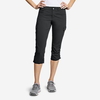 Women's Horizon Capris in Gray