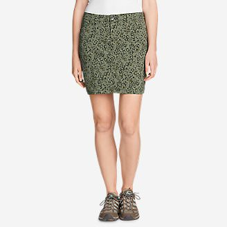 Women's Horizon Skort - Print in Green