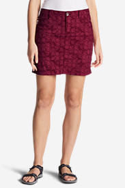 Women's Horizon Skort - Print in Red