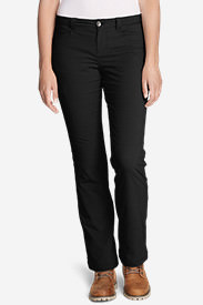 Women's Horizon Stretch Lined Pants in Black