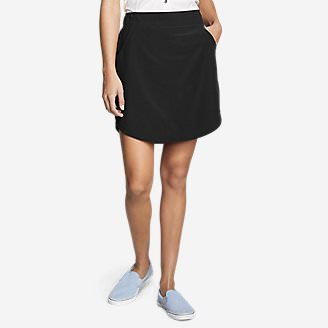 Women's Departure Skort in Black