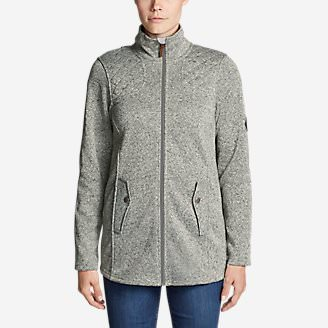 Women's Radiator Fleece Cirrus Jacket - Long in Gray