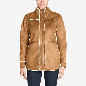 Women's Cascade Lake Jacket in Brown