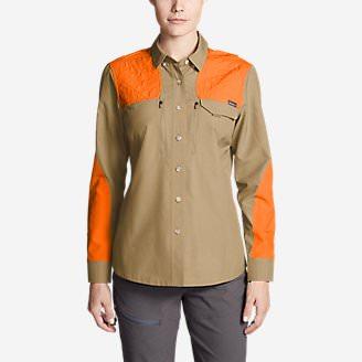 Women's Field Guide Flex Shirt in Brown