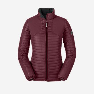 Women's MicroTherm StormDown Field Jacket in Red