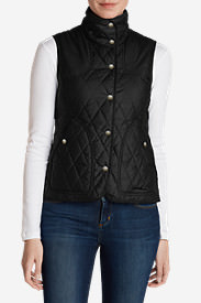 Women's Year-Round Field Vest in Black