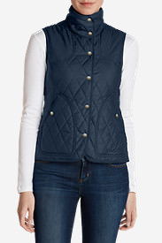 Women's Year-Round Field Vest in Blue