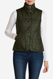 Women's Year-Round Field Vest in Green