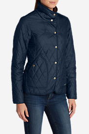 Women's Year-Round Field Jacket - Solid in Blue