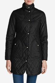 Women's Year-Round Field Coat in Black