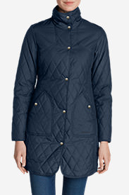 Women's Year-Round Field Coat in Blue