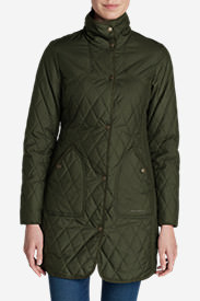 Women's Year-Round Field Coat in Green