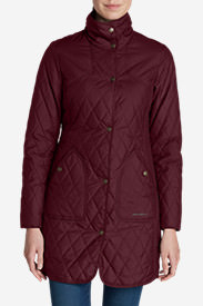Women's Year-Round Field Coat in Red