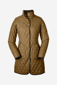 Women's Year-Round Field Coat in Brown