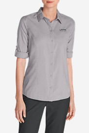 Women's Water Guide Long-Sleeve Shirt in Gray
