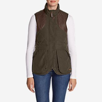 Women's 1936 Skyliner Model Hunting Vest in Green