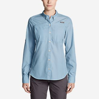 Women's Guide Long-Sleeve Shirt in Blue