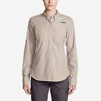 Women's Guide Long-Sleeve Shirt in White