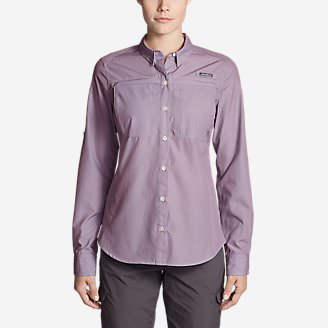 Women's Guide Long-Sleeve Shirt in Purple