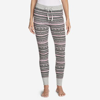 Women's Stine's Favorite Waffle Sleep Pant in Purple