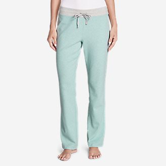 Women's Stine's Knit Sleep Pants - Print in Green