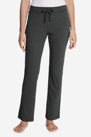 Women's Knit Sleep Pants - Solid in Gray