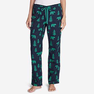 Women's Stine's Favorite Flannel Sleep Pants in Blue