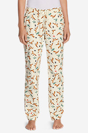 Women's Stine's Favorite Flannel Sleep Pants in White