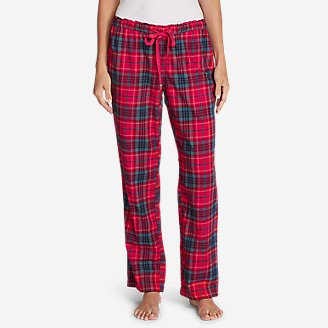 Women's Stine's Favorite Flannel Sleep Pants in Red