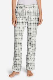 Women's Stine's Favorite Flannel Sleep Pants in Gray