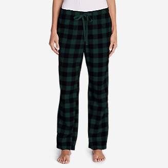 Women's Stine's Favorite Flannel Sleep Pants in Green