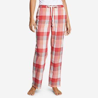 Women's Stine's Favorite Flannel Sleep Pants in Red