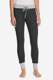 Women's Stine's Favorite Waffle Sleep Pants - Patterned in Gray