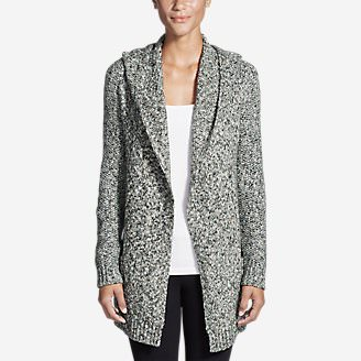 Women's Hooded Sleep Cardigan in Gray