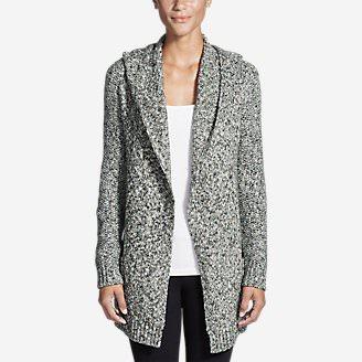 Women's Hooded Sleep Cardigan in Gray