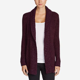 Women's Lounge Around Cardigan in Purple