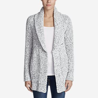 Women's Lounge Around Cardigan in White