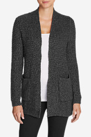 Women's Thermal Sleep Cardigan in Gray