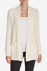 Women's Thermal Sleep Cardigan in Beige