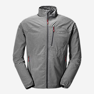 Men's Sandstone Soft Shell Jacket in Gray