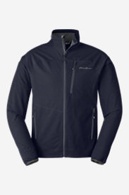 Men's Sandstone Soft Shell Jacket in Blue