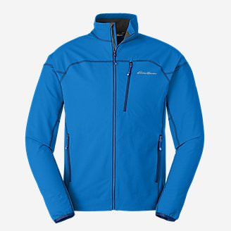 Men's Sandstone Soft Shell Jacket in Blue