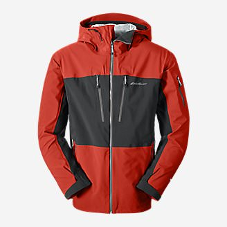 Men's Neoteric Shell Jacket in Red