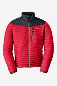 Men's MicroTherm® StormDown® Jacket in Red