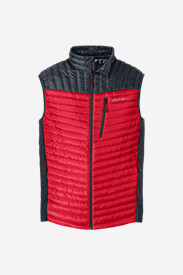 Men's MicroTherm® StormDown® Vest in Red