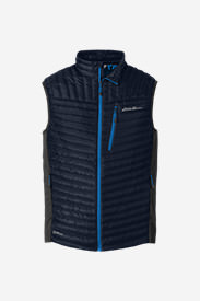 Men's MicroTherm® StormDown® Vest in Blue