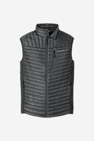 Men's MicroTherm® StormDown® Vest in Gray
