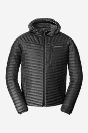Men's MicroTherm® StormDown® Hooded Jacket in Black