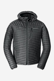 Men's MicroTherm® StormDown® Hooded Jacket in Gray