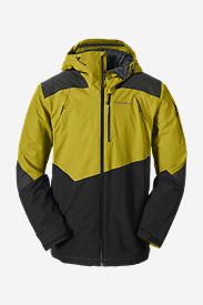 Men's Telemetry Freeride Jacket in Yellow